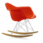 Vitra - Eames Plastic Armchair RAR, red