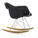 Vitra - Eames Plastic Armchair RAR, basic dark, chrome