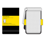 Moleskine - chequered notebook, large