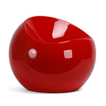 XLBoom - Ball Chair, red