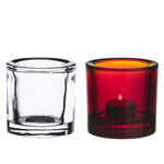Iittala - Kivi Votive Candle Holder 60 mm (clear / red)