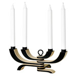 Design House Stockholm - Nordic Light Candle Holder - 4-armed, black
