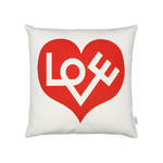 Vitra - Graphic Pillow Love 40 x 40 cm, red