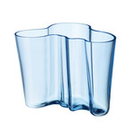 Iittala - Aalto Vase Savoy, light blue 160 mm