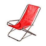 Fiam - Recliner Seat Dondolina, red
