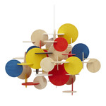 Normann Copenhagen - Bau Pendant Lamp - multicoloured, small