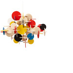 Normann Copenhagen - Bau Pendant Lamp - multicoloured, large