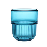 Authentics - Kali Cup, set of 2, transparent blue