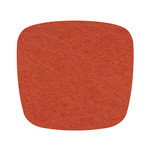 Hey Sign Felt Cushion Eames Plastic Armchair, mango 5 mm, without anti-slide coating