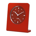 Punkt. - Analog Alarm Clock AC 01, red
