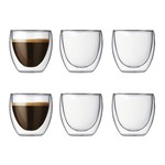 Bodum - Pavina, 0.08 l (set of 6)