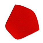 Knoll - Cushion for Bertoia Diamond Lounger - Hopsack, red