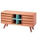 The Hansen Family - Remix Collection Sideboard, oak wood / blue