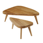 The Hansen Family - Remix Collection, Coffee Table M&S, oak wood