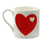 byGraziela - Mug Heart, red