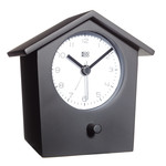 KooKoo - Early Bird Alarm Clock, black
