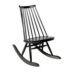 Artek - Mademoiselle Rocking Chair, black stained