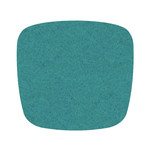 Hey Sign Felt Cushion Eames Plastic Armchair, turquoise 5 mm, without anti-slide coating
