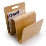 Offi - Newspaper rack Mag Stand, oak wood