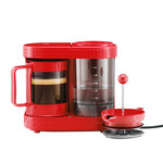 Bodum - Bistro, Electric Coffee Maker, 4 cups, 0.5 l, red