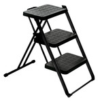 Magis - Nuovastep Stepladder, epoxy lacquered, black