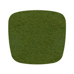 Hey Sign - Felt Cushion Eames Plastic Armchair, olive 5mm, without anti-slide coating