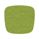 Hey Sign - Felt Cushion Eames Plastic Armchair, may green 5mm AR, with anti-slide coating