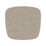 Hey Sign - Felt Cushion Eames Plastic Armchair, stone 5mm