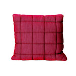 Muuto - Soft Grid Cushion 50 x 50 cm, red purple