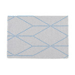 Hay - S&B Dot Carpet, 120 x 170 cm, big blue