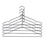 Hay - Hang hangers 5 pcs. set, black