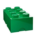 Lego - Storage Brick 8, dark green