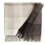 Elvang - Inca Stones blanket, brown