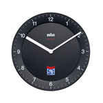 Braun - Analogue Funk Wall-Clock BNC006, black