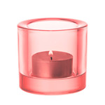 Iittala - Kivi Votive Candle Holder, salmon pink