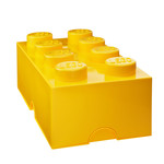 Lego - Storage Brick 8, yellow