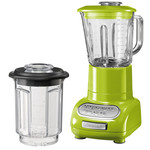 KitchenAid - Artisan blender with 1.5 l glass container and 0.75 l mixing pot, green apple