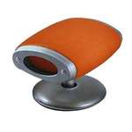 Moroso - Gluon swivel stool, Cod.0V7 / Cover Tonus 605 orange (cover Kat. S)