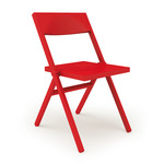 Alessi und Lamm - Alessichair Piana folding chair, red