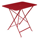 Fermob - Bistro folding table, rectangular, 77 x 57 cm, poppy red