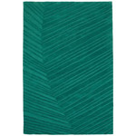 Ruckstuhl - Palm Leaf Carpet, 300 x 200 cm, pine green