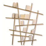 Edition Compagnie - Mikado bookshelf oak wood, natural / large