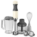 KitchenAid - Hand blender with 5 velocity levels, almond cream