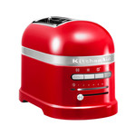 KitchenAid - Artisan Toaster 5KMT2204EER, 2 slices, empire red