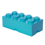 Lego - Storage Brick 8, medium azur