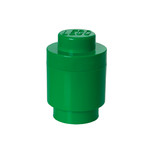 Lego - Storage Brick 1 Round, darkgreen