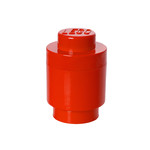 Lego - Storage Brick 1 Round, red