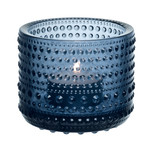 Iittala - Kastehelmi Votive, rain blue 64 mm