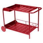 Fermob - Luxembourg Serving Trolley, poppy red