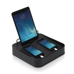 Bluelounge - Sanctuary⁴ USB charging station, black